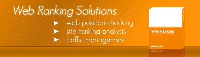 Web Ranking solutions