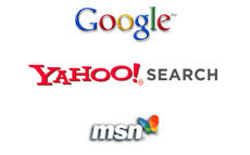 Supported search engine Google, Yahoo Search, MSN